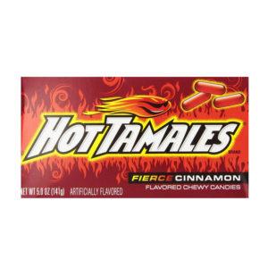 גומי לעיסה בטעם קינמון חריף Hot Tamales