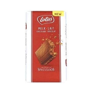 טבלת שוקולד חלב לוטוס Lotus