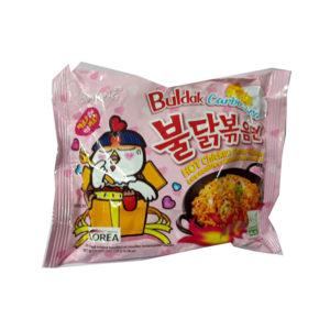 אטריות ראמן קוריאני בטעם עוף חריף מוקרם