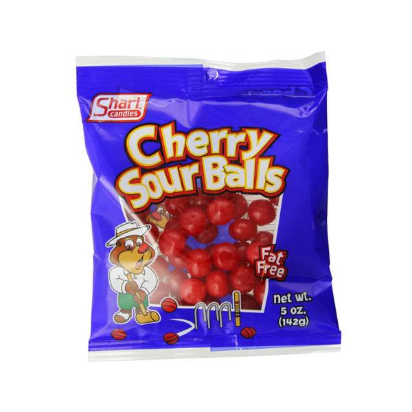 כדורי גומי דובדבן חמוץ Cherry Sour Balls
