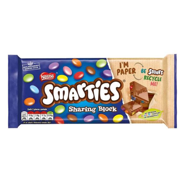 טבלת שוקולד סמרטיז Smatries
