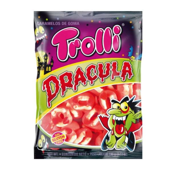 גומי בצורת שיני ערפד דרקולה Trolli