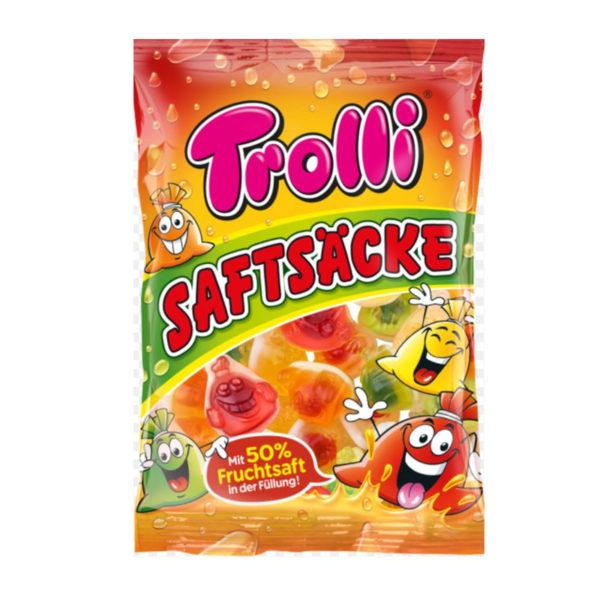 גומי שקיות ממולאות ג'ל פירות Trolli