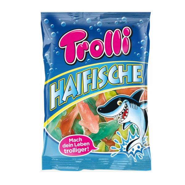 גומי בצורת כרישים בטעמי פירות Trolli