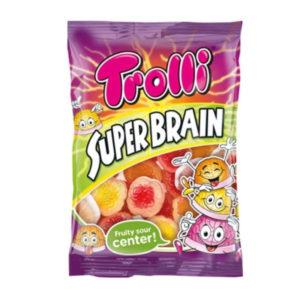 גומי בצורת מוח במילוי ג'ל חמוץ Trolli