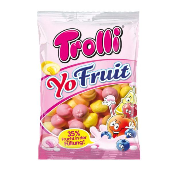גומי בטעמי פירות ויוגורט Trolli