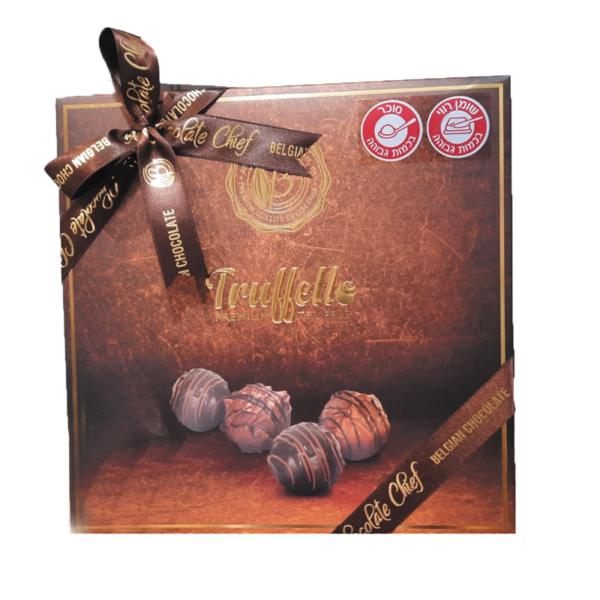 מארז יוקרתי טראפלים שוקולד בלגי משובח בטעמים שונים