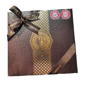 מארז יוקרתי פרלינים שוקולד בלגי משובח בטעמים שונים