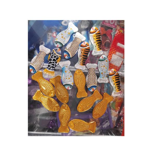 שוקלדים בצורת דג במשקל