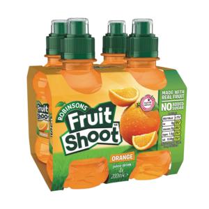 מארז 4 יחידות משקה תפוזים Fruit Shoot