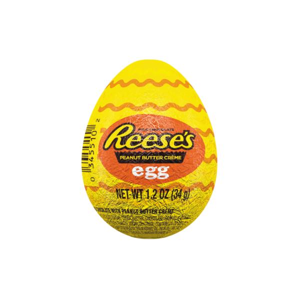 ביצת שוקולד ממולאת בחמאת בוטנים Reese's